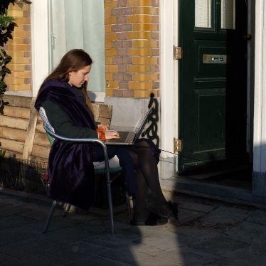 Homeoffice 10.0 — das hat eine holländische Frau mir lachend zugerufen, als…