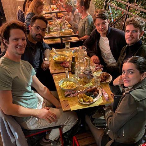 Pasta and friends 🍝  #erlebees #studierenweltweit