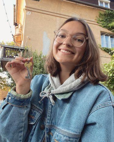 In Ljubljana wohne ich nun seit mehr als drei Wochen in einer WG zusammen mit…