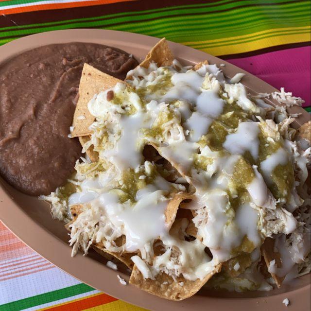 Typisches mexikanisches Frühstück