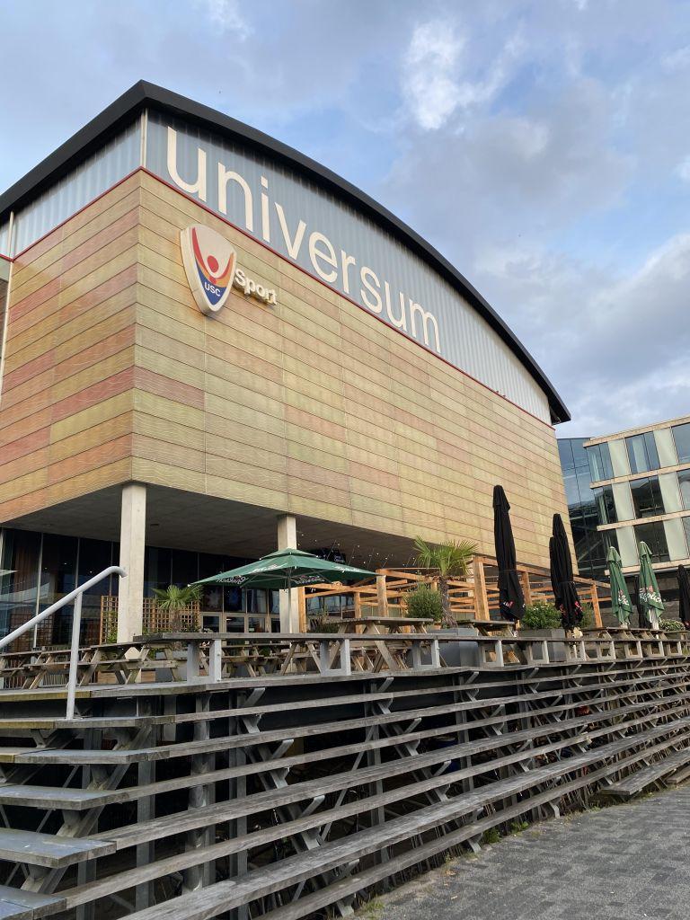 Sport und Kultur and der Uni Amsterdam