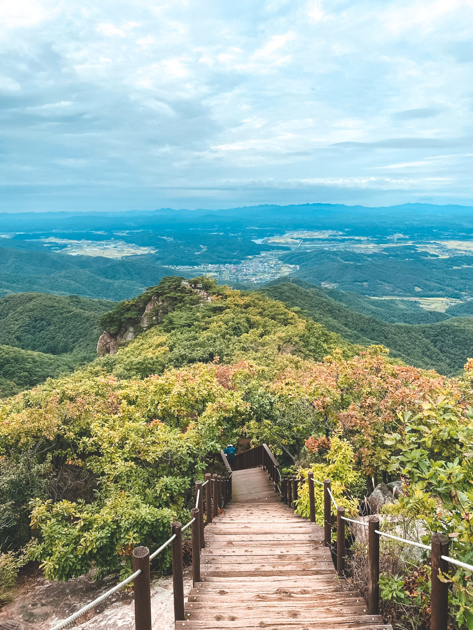 Berge und Natur in Seoul