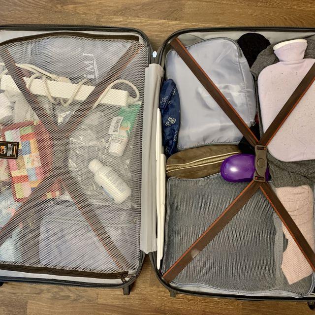 Koffer von Innen